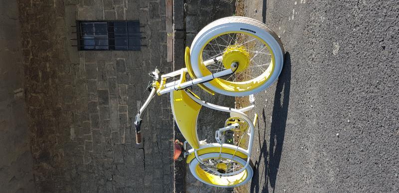 E-Basman weiß / gelb