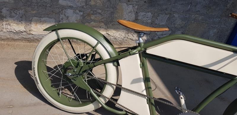 E-Porucho olive matt